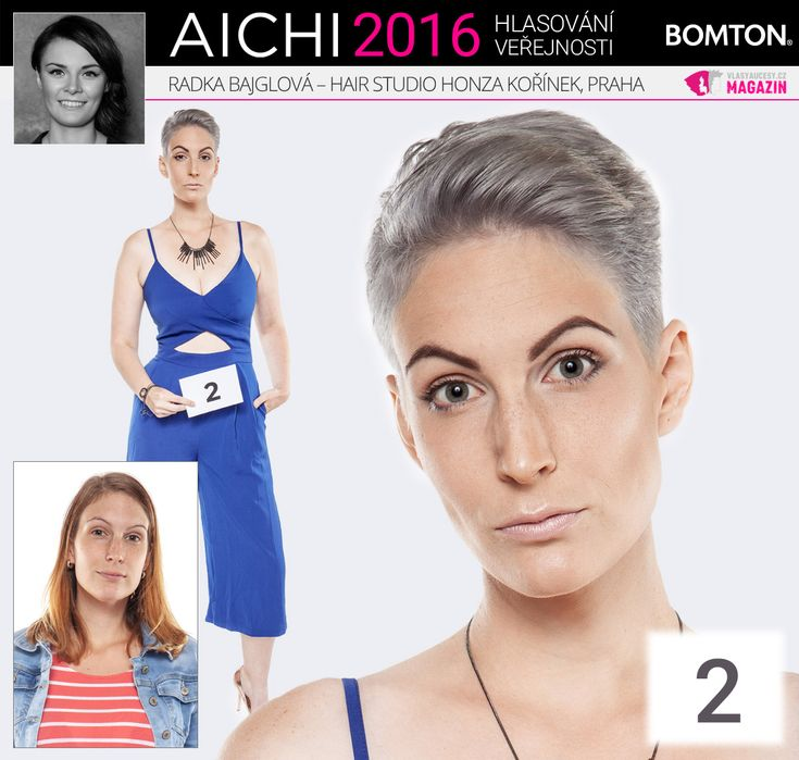 Finále AICHI 2016: Radka Bajglová - Hair studio Honza Kořínek, Praha