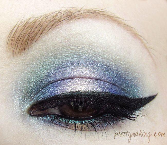 Prettymaking: FOTD/EOTD: Watercolors, Version 2.0. Beautiful!: Brown Eyes, Makeup Hairs, Gorgeous Eyeliner, Hairs Makeup Nails, Blue Eyes, Watercolor 2 0, Beauty Cosmetics, Beauty Blogs, Beautyblog