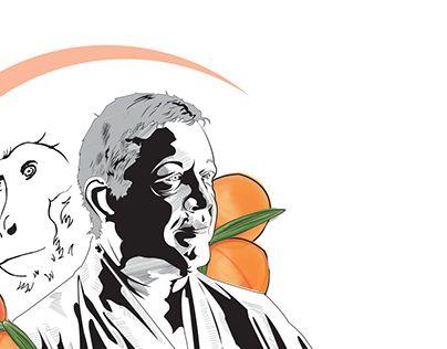 "Check out new work on my @Behance portfolio: ""Momo no Saru"" http://be.net/gallery/36958377/Momo-no-Saru  #momonosaru #momo #saru #peach #monkey #Kenjutsu #vector #vectorart #illustration #adobe #blackandwhite #art #digitalart #martialarts"