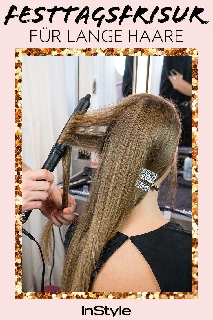 Glam It Up So Geht Die Schönste Party Frisur Für Lange Haare