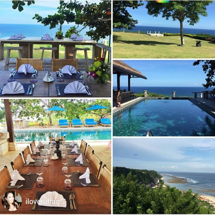 An enchanting, secluded and close to #nature #Bali rental villa. It sits at the #edge of a beautiful #cliff overlooking #Pandawa #Beach and offers 180 degrees of Breath Taking Panoramic #Ocean View....