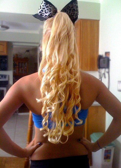 Enjoyable 1000 Images About Hair For Cheer On Pinterest Carly Manning Short Hairstyles For Black Women Fulllsitofus