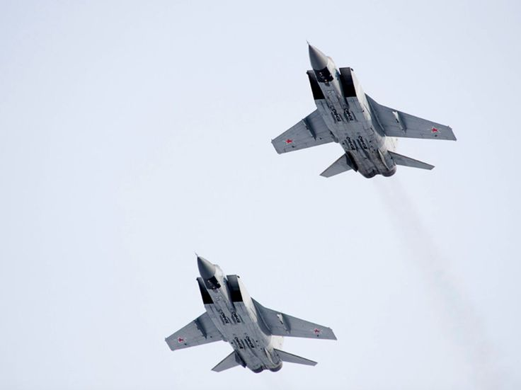 15 photos of the MiG-31 the Russian fighter jet that can chase away SR-71 Blackbirds