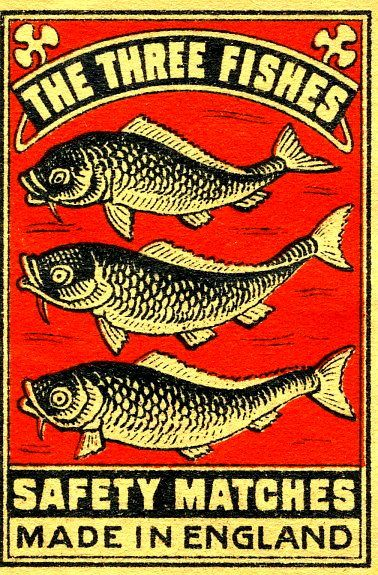 Three Fishes by Kollage Kid, via Flickr