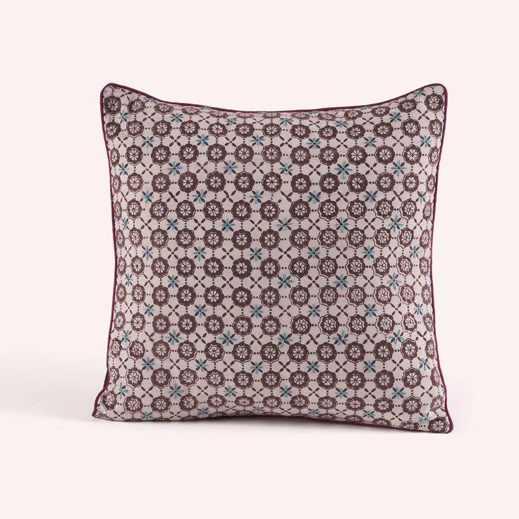 Cushion Cover Persa Purple Flowers