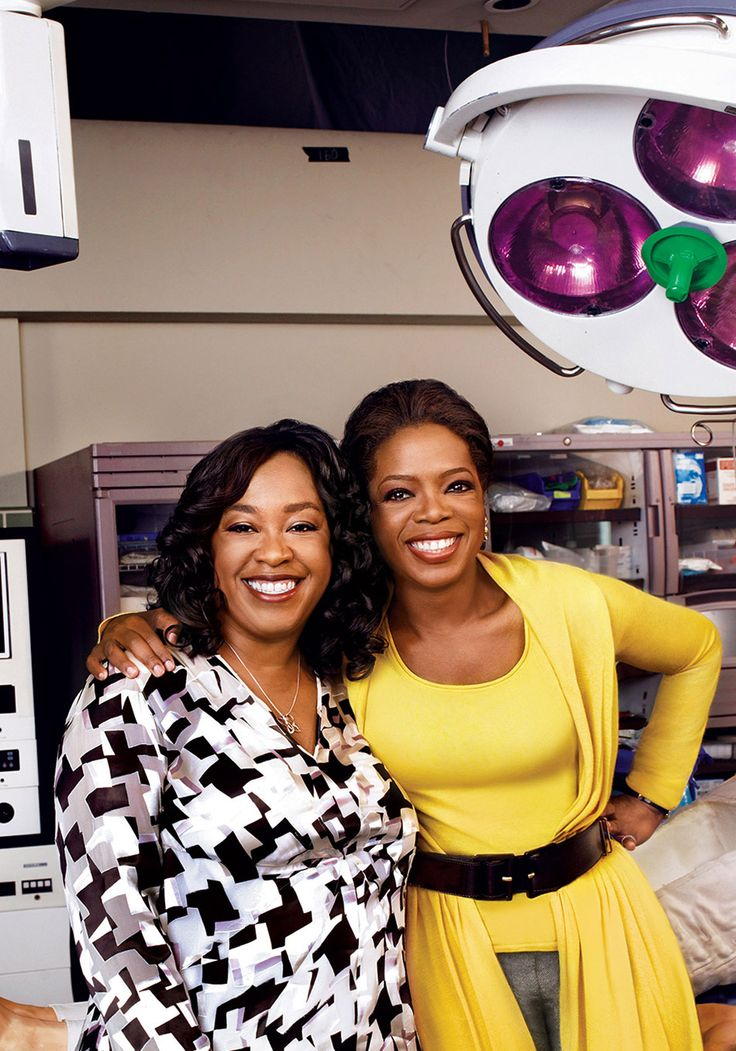 Oprah Talks to Shonda Rhimes