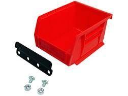 Lee Reloading Stand Bin & Bracket Red