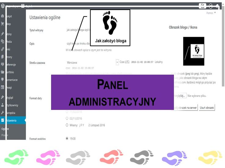 Kilka słów o panelu administracyjnym czyli o tym jakie daje on możliwości na blogu
