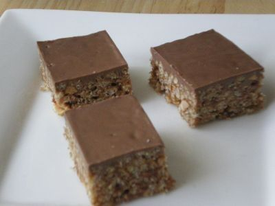 Gluten Free Chocolate Bubble Slice