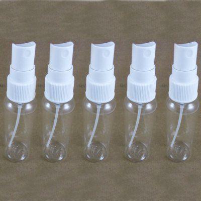 5 Pet Clear Plastic Spray TSA Bottles Empty Refill 2 Oz Mist Pump Perfume Travel:Amazon:Beauty