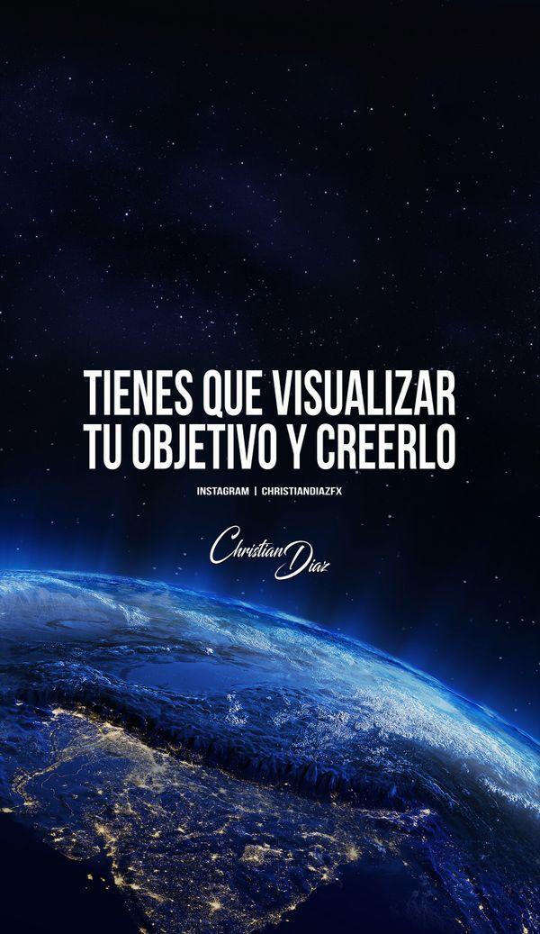 Primero visualiza tu idea y cree en ti!