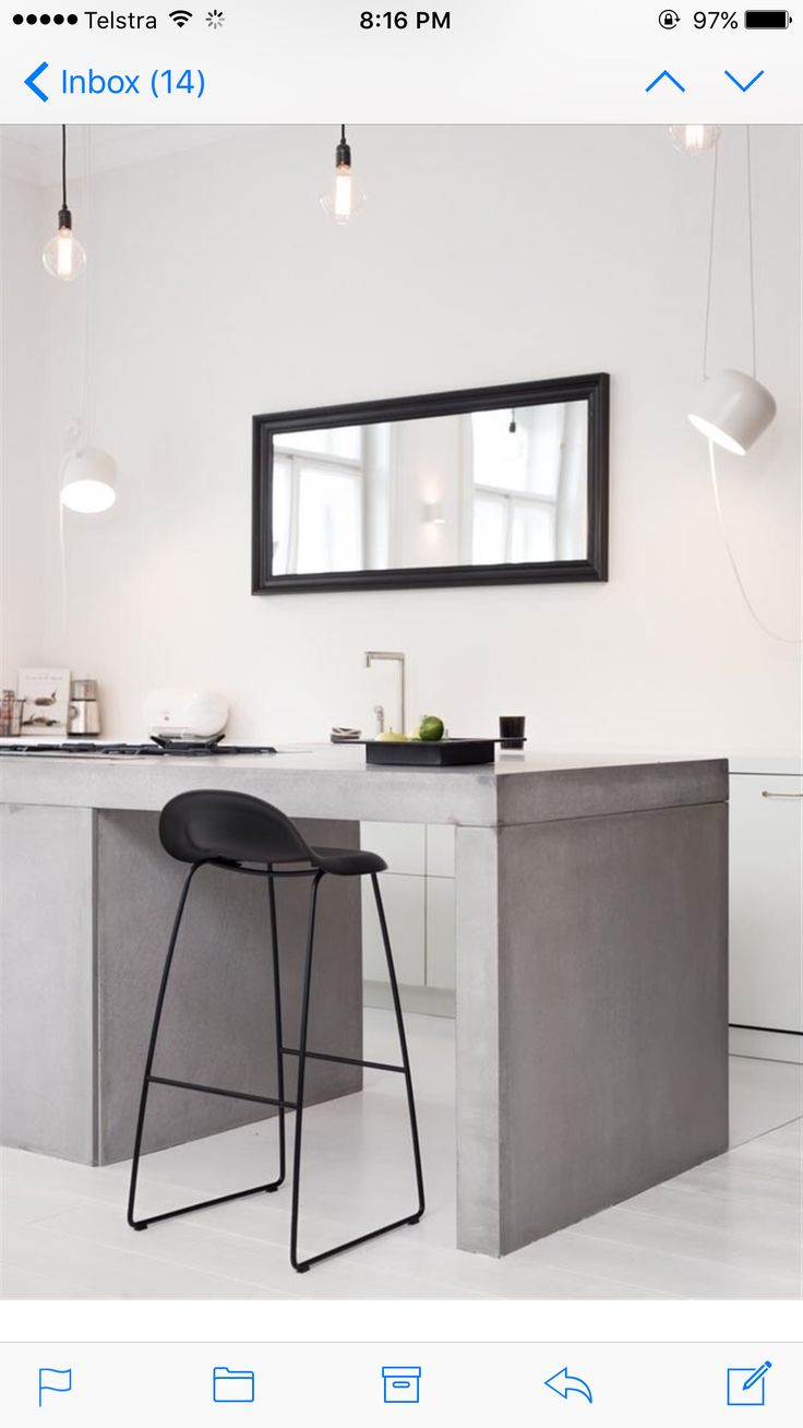 Gubi 3F Bar Stool with sledge base. Available in our online boutique.