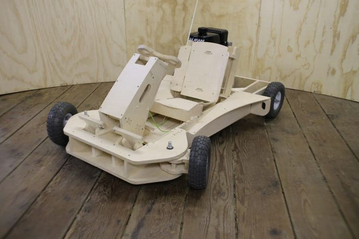 Once assembled, the PlyFly Go-Kart measures 101 x 58 x142 cm (40 x 23 x 56.5...
