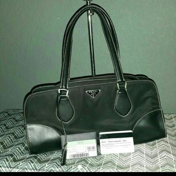 Authentic Prada doctor bag Great condition prada bag. Black. 3rd pic had description.  Smoke free home. Prada Bags Shoulder Bags