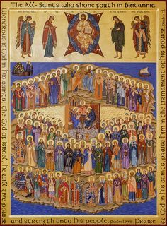 The All Saints of Great Britain