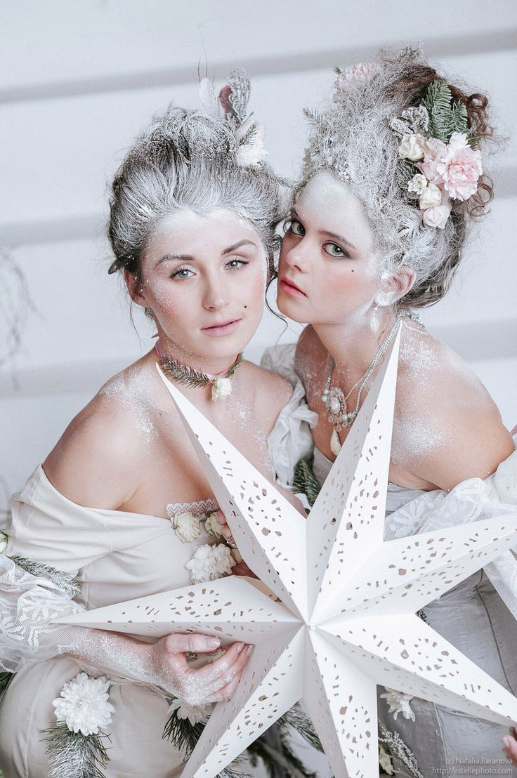 Снежно-цветочная импровизация, Мария Антуанетта