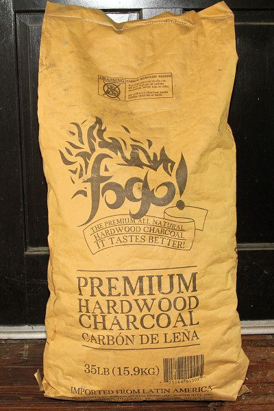Review of Fogo Premium Hardwood Charcoal -- Naked Whiz Ceramic Charcoal Cooking