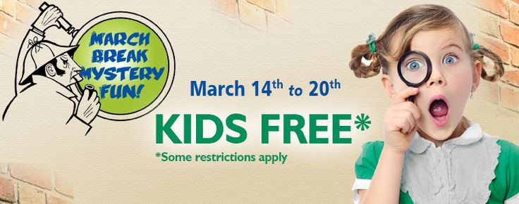 Kids Free during March Break at Black Creek