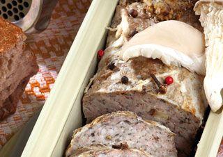 Pâté de campagne aux champignons Cooking Chef