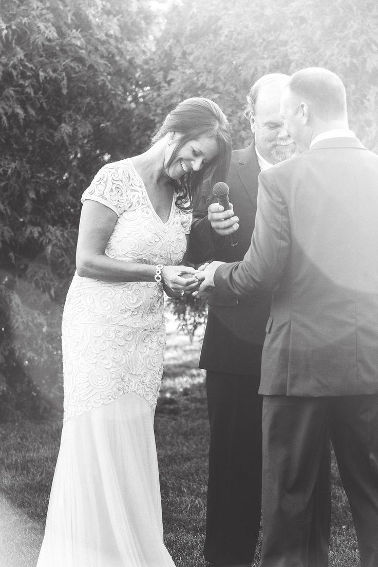 Beautiful Rustic Wedding at The Barn- Garden Ceremony