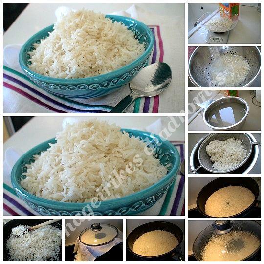Αφράτο ρύζι ατμού