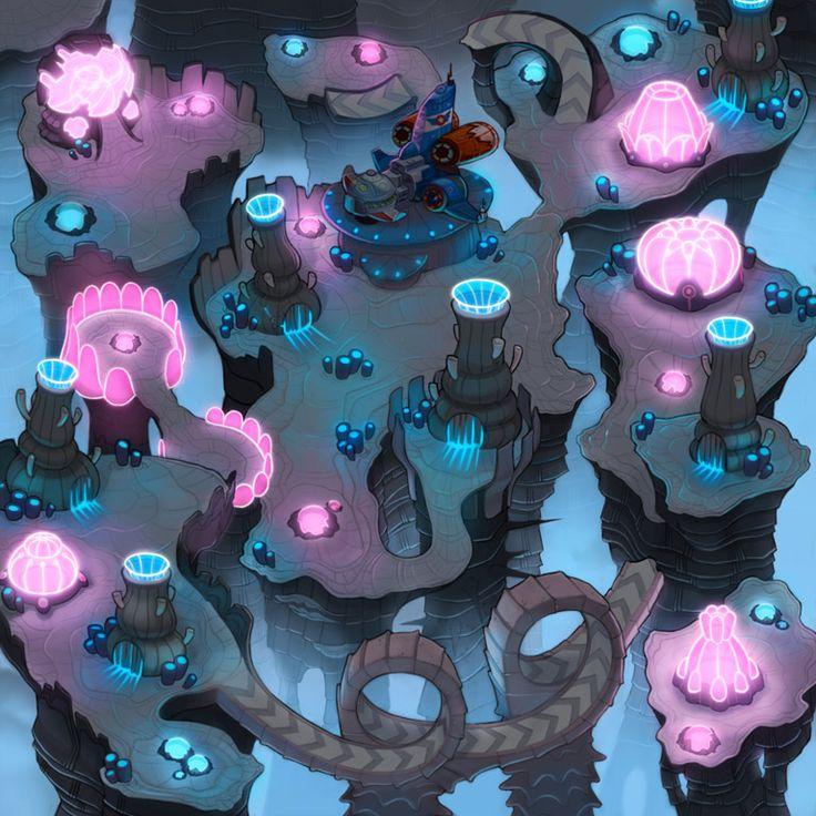 Sonic Chronicles Map Art: Voxai Beta by joy-ang.deviantart.com on @deviantART