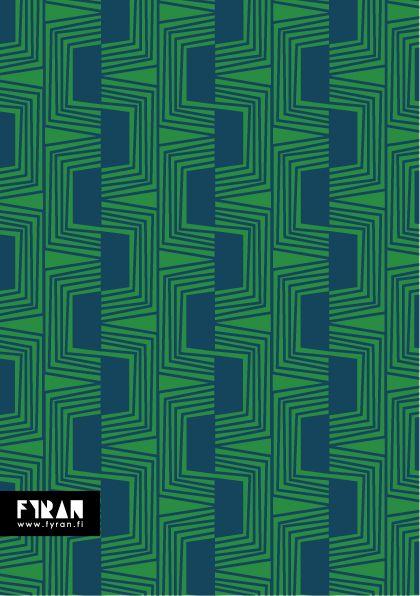Mönsterkollektivet FYRAN / Pattern / Spår