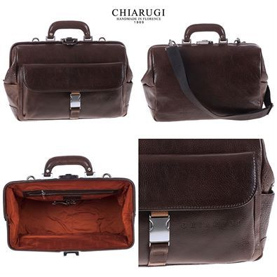 Chiarugi Firenze - #leather #leatherbags #business #men #doctorbag