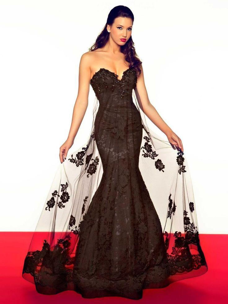 Chocolate Brown Lace Bridesmaid Dress