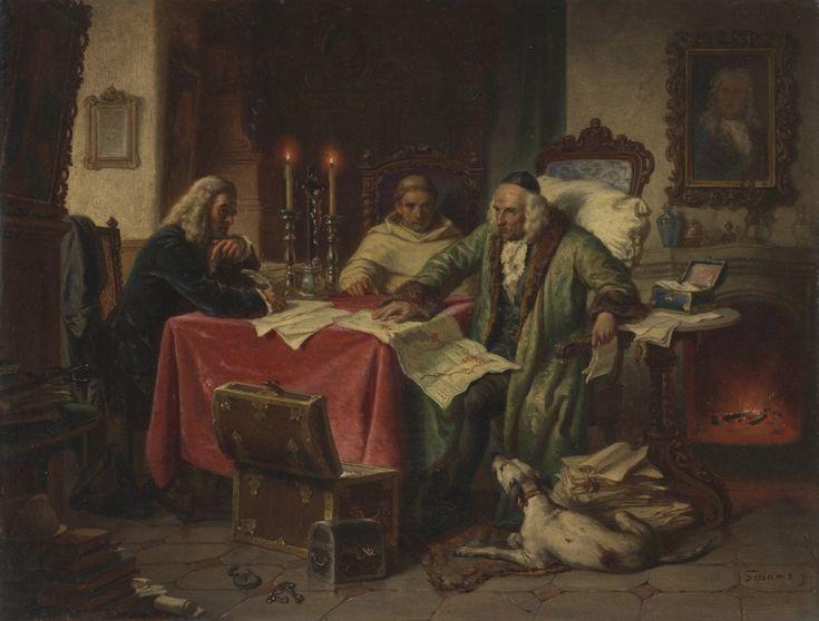 Franz Schams, Poslední vůle, [2. polovina 19. století]