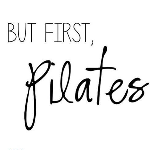 Dans mon cas c'est vrai, car je suis prof de Fusion Pilates! #villeetplage But first Pilates