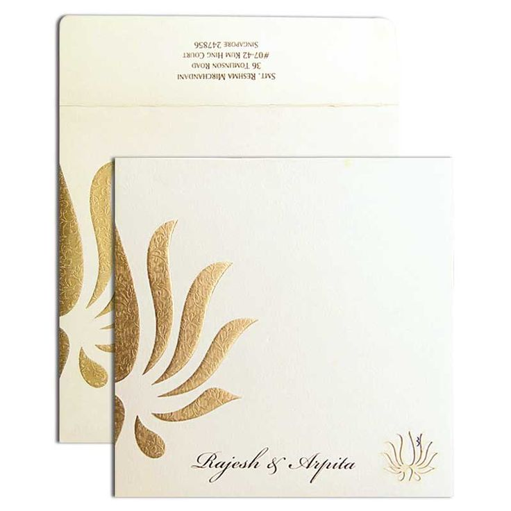 lotus flower wedding invitations%0A Texture Lotus Designer Wedding Card