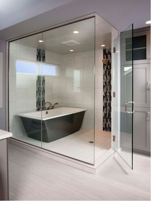 21+ Unique Bathtub Shower Combo Ideas for Modern Homes Pinterest