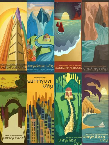013 - Keoni's Sims 2 Stuff - pokemon travel posters #downloaded