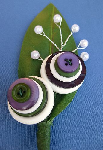 Groom Button Boutonniere 3 by rbkcreations, via Flickr