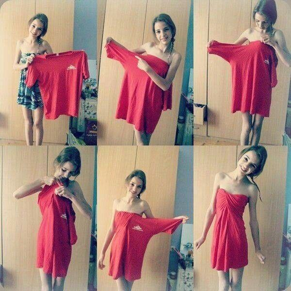 Hmm.. Könnyen elkészíthető nyári ruha. :)