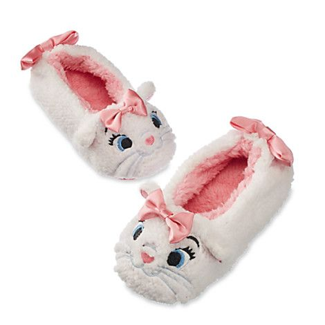 Marie Plush Slippers for Kids - The Aristocats