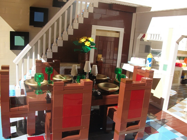 Behold This Genius and Truly Spectacular Lego Dollhouse