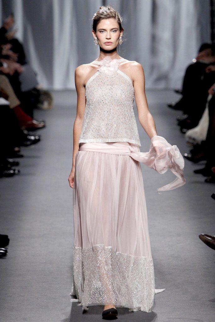 Chanel Spring 2011 Couture Fashion Show - Bianca Balti
