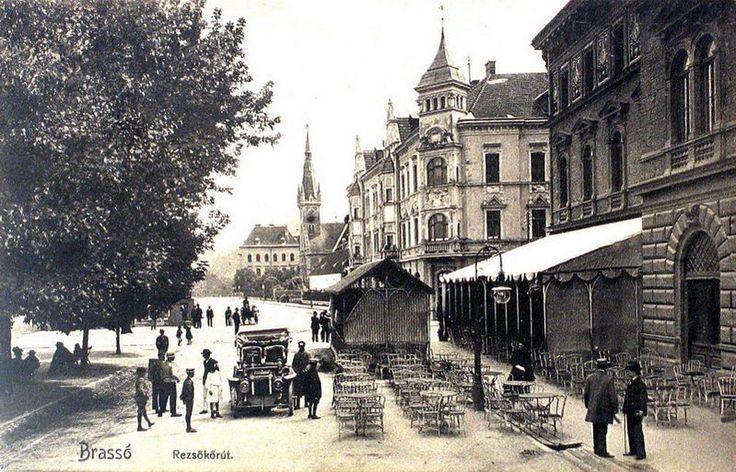 Unde puteai bea o cafea bună în Brașov acum 100 de ani