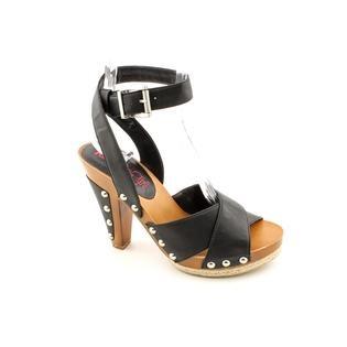 Kensie Girl Jaslene Open Toe Heels Shoes Black  - Love these shoes!