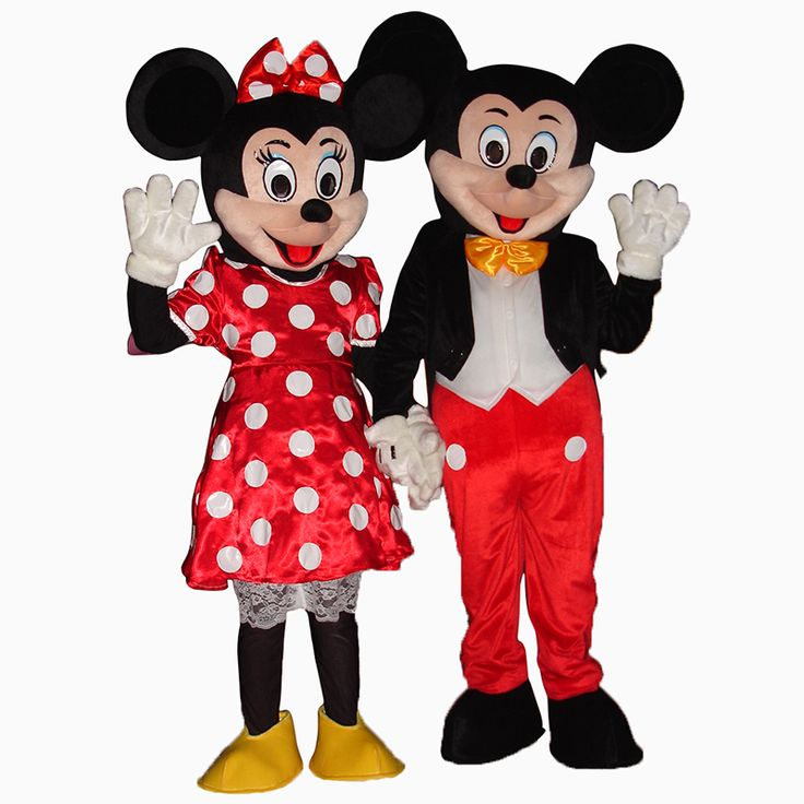 Hot Sale For   Mouse Adult Mascot Costume Party Clothing Fancy Dress #Affiliate