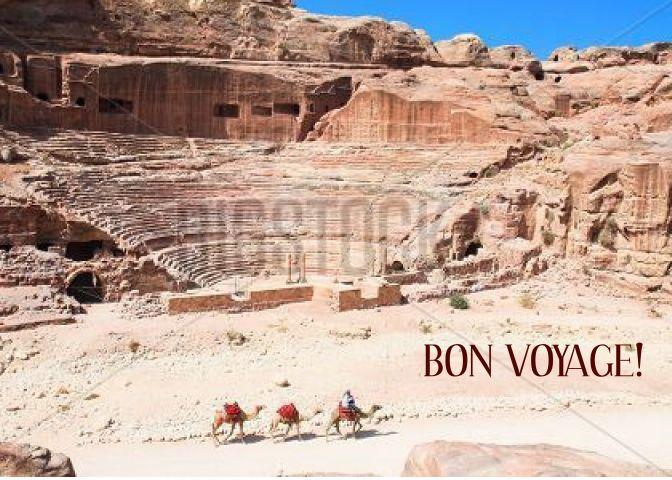 Bon Voyage Holy Land Pilgrimage Minister Card Ad Ad Holy Voyage Bon Land
