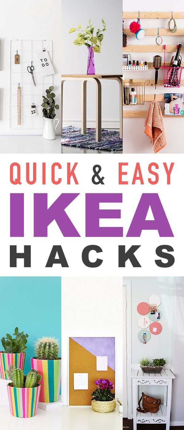 You Are Going To Really Enjoy This Weeks Collection Of Quick And Easy IKEA Hacks