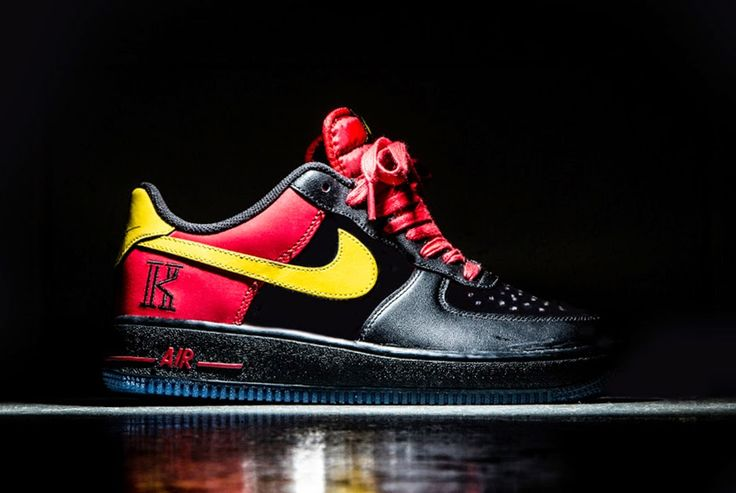 "I Love Sneakers - The Sneaker Blog: Nike und NBA Spieler Kyrie Irving machen gemeinsame Sache: Nike Air Force 1 CMFT Signature QS ""Kyrie Irving"""
