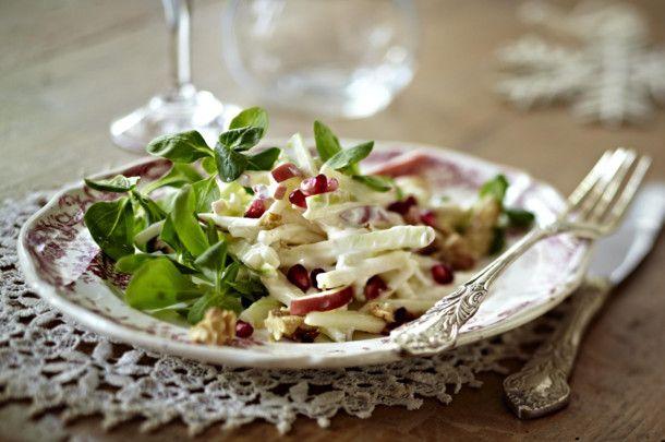 Unser beliebtes Rezept für Waldorfsalat mit Granatapfel und mehr als 55.000 weitere kostenlose Rezepte auf LECKER.de.