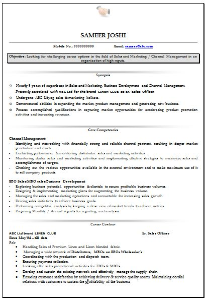 The 25+ best Resume format for freshers ideas on Pinterest - sample resume doc