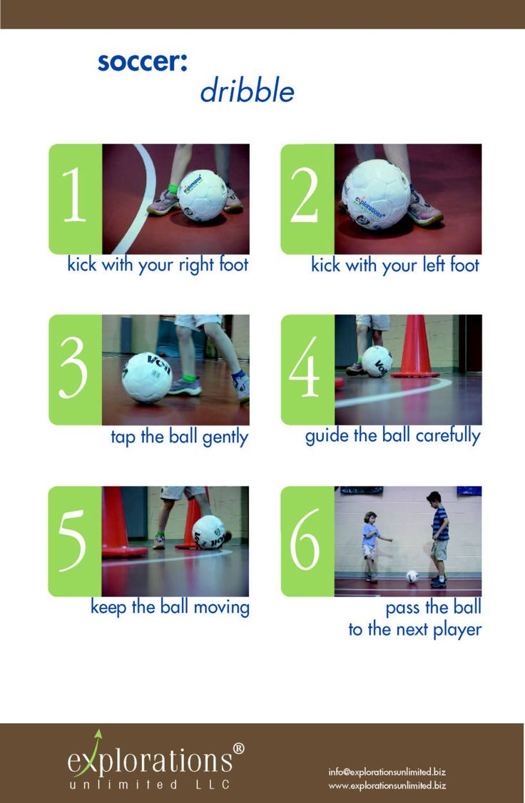 Teach Children with Autism to Dribble a Soccer Ball