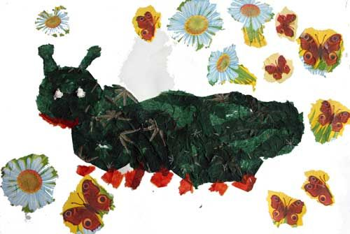 Развитие воображения ребенка (творчество) ТЕМА: Гусеница из салфеток | Азбука Ума - раннее развитие детей, игры с детьми, презентации для дошкольников