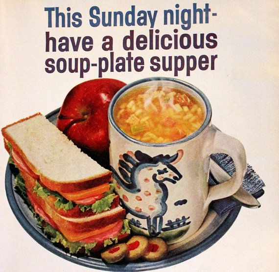 25 Best Campbell's Soup Vintage Advertising Images On